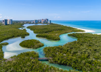 Pelican Bay Naples Aerial Stock Photography-2